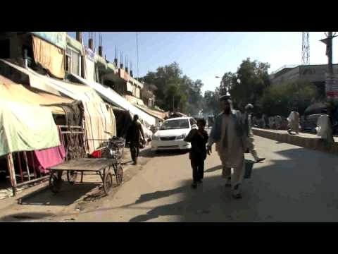 walking in Jalalabad