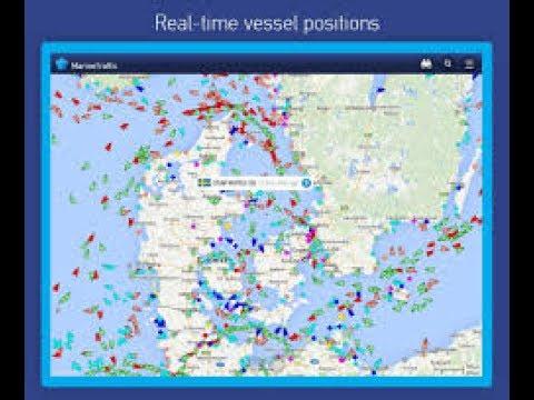 تطبيق marine traffic لمشاهدة الموانئ
