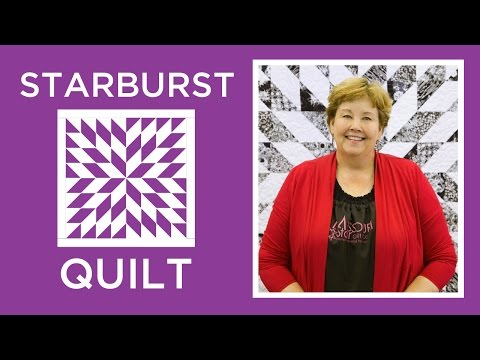 Make an Easy Starburst Quilt with Jenny