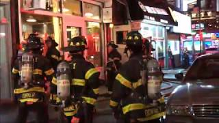 FDNY BOX 766 - 10-75 ALL HANDS RESTAURANT SHAFT FIRE ON WEST 40TH STREET.