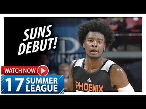 Josh Jackson Full Suns Debut Highlights vs Kings 2017.07.07 Summer League  18 Pts, 8 Reb