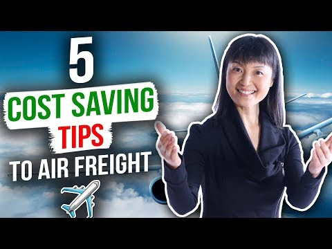 💰💰💰 HOW TO SAVE MONEY ON AIR FREIGHT| SHIP TO AMAZON