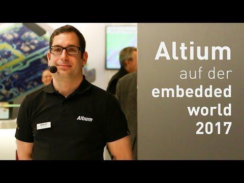 Embedded World 2017: Altium Designer 17 Demo (German)