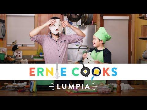 Ernie Cooks Lumpia! | Ernie Cooks | HiHo Kids