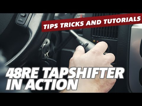 BD Diesel 48RE TapShifter - See How It Works - YouTube