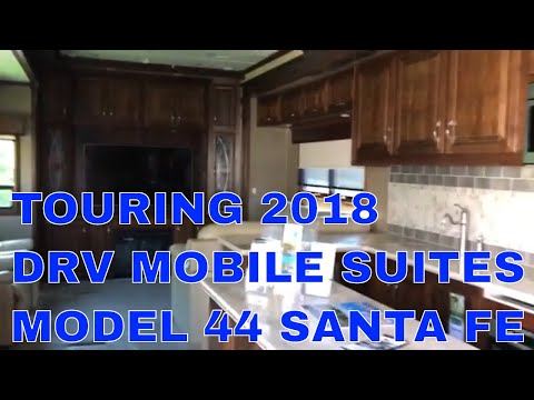 Touring The 2018 DRV Mobile Suites Model 44 Santa Fe
