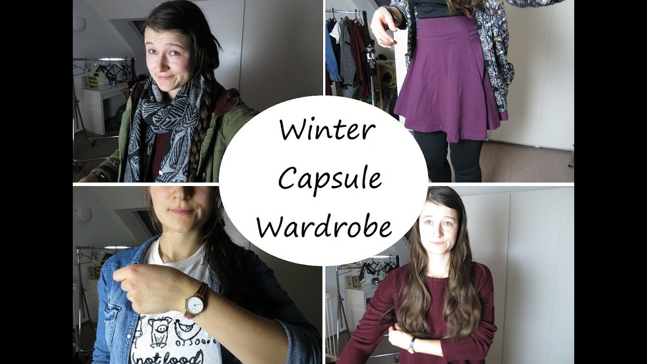 capsule wardrobe deutsch project 333 winter 2018 youtube. Black Bedroom Furniture Sets. Home Design Ideas