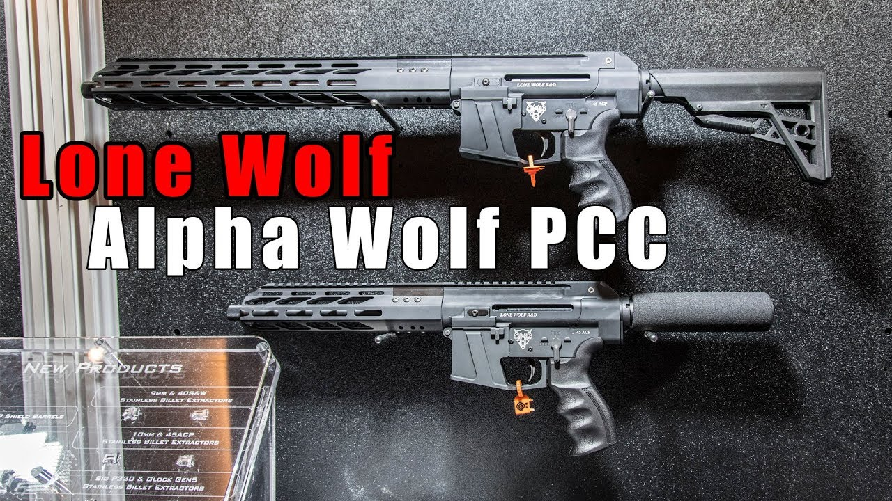 Lone Wolf Unveils New Pistol Caliber Carbine At Shot Show 2018 Youtube