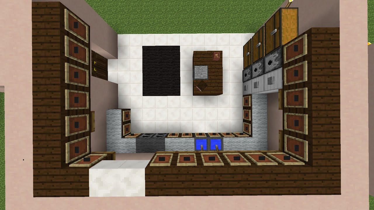 Minecraft Building Ideas Kitchen Designs Youtube