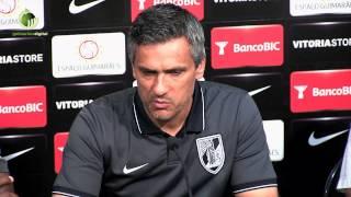 """Armando Evangelista tem a """"certeza"""" que o Vitória """"vai passar ao playoff"""""""