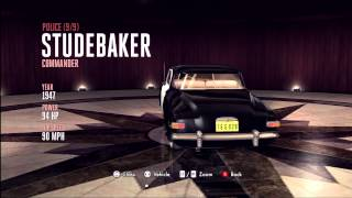 LA Noire Vehicle Guide - Police Studebaker Commander