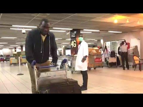 Coronavirus: la Côte d'Ivoire prend des mesures sanitaires à l'aéroport d'Abidjan