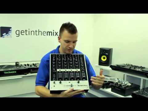 Numark M6 USB DJ Mixer - Demonstration