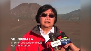 Kunker MenLHK Siti Nurbaya Ke Tiga TN di Jatim 032016