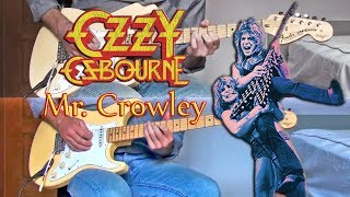 Ozzy Osbourne - Mr. Crowley (Guitar Cover)