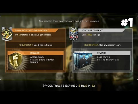 BTTV Live Event: Weekly Mission Team Contract Completion #1