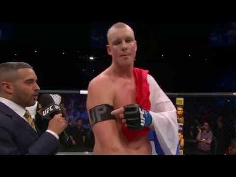 Fight Night Rotterdam: Stefan Struve Octagon Interview
