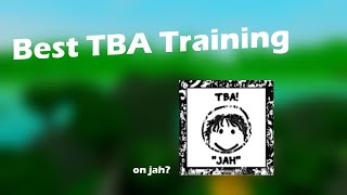 The Best TBA Training | The Bighead Alliance (Roblox)