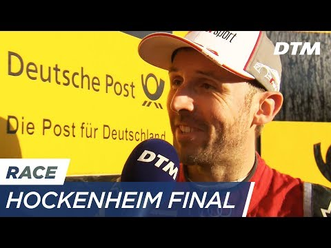 Interview René Rast (German audio) - DTM Hockenheim 2017