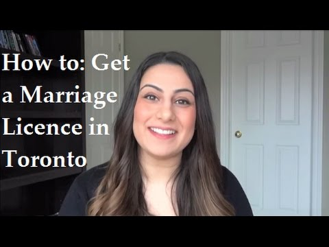 How To Get A Marriage Licence In Toronto - Marriage Certificate | Wedding Planning Advice