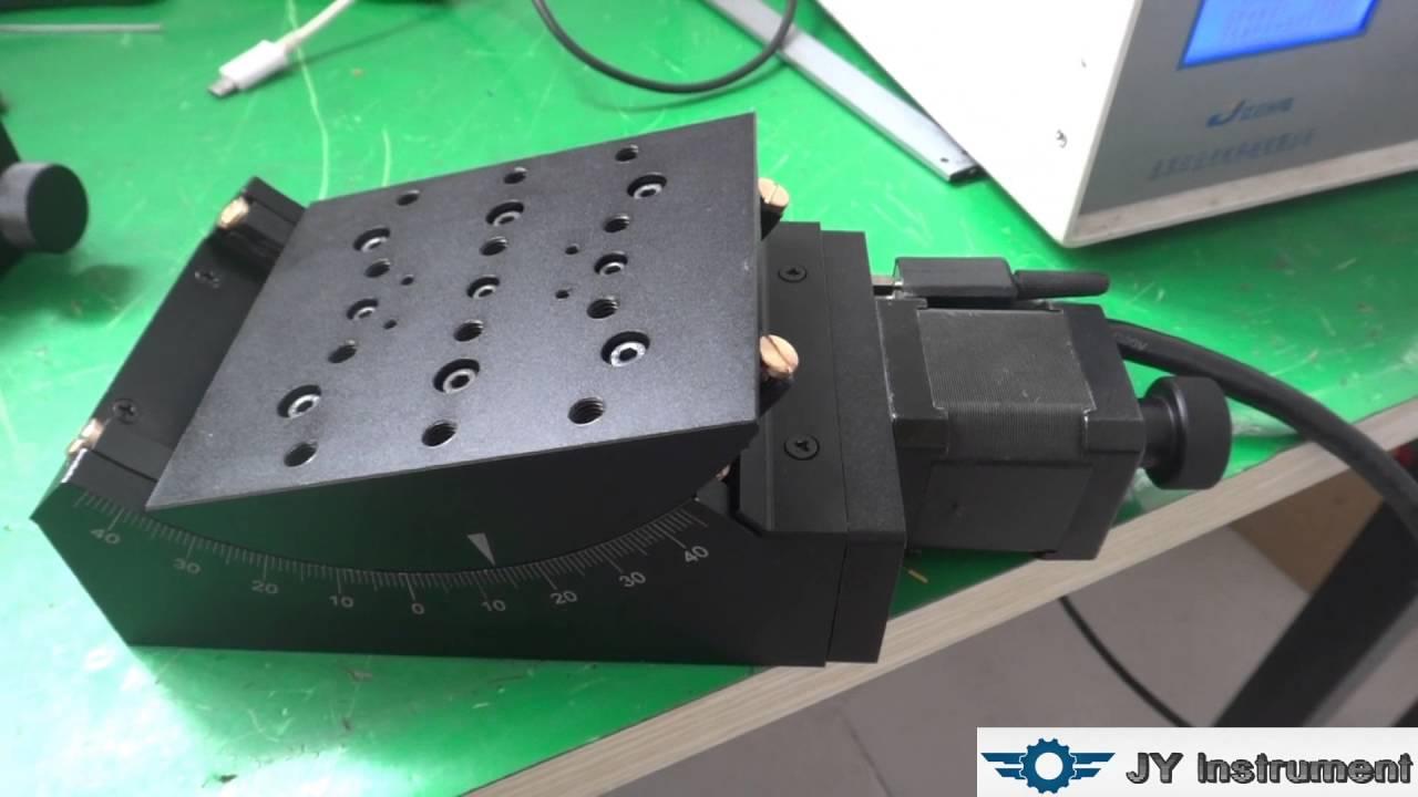 Motorized Goniometer Stage Stage Angle Range 40 Degree