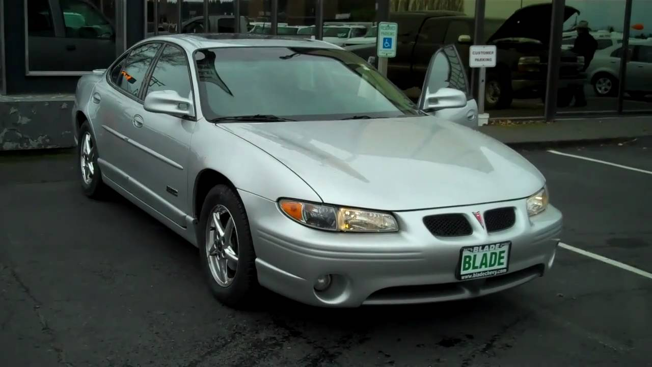 Everett Chevrolet >> 2002 Pontiac Grand Prix GTP - YouTube