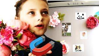 DIY Цветы магниты на холодильник Как сделать магнитики на холодильник How to make fridge magnets