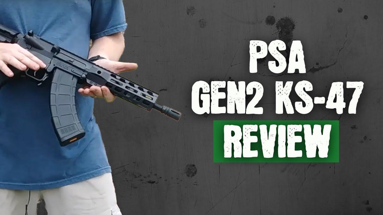 PSA GEN2 KS-47 8 5` PISTOL-LENGTH 7 62X39 NITRIDE 7` LIGHTWEIGHT M-LOK MOE  EPT SBA3 PISTOL REVIEW