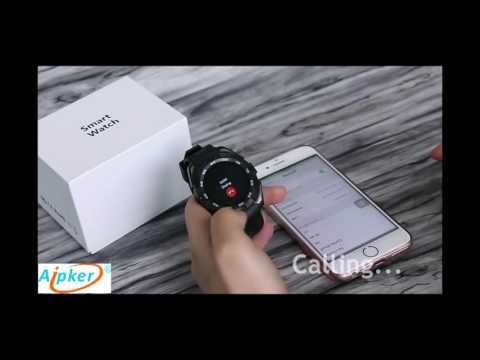 Review  Aipker G5 Smart Watch phone with Sport style | mobile review