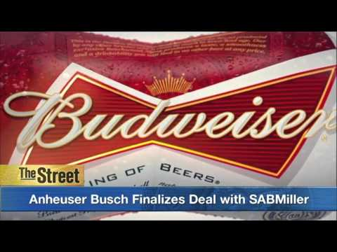 SABMiller Agrees to Terms of Takeover Deal from Anheuser Busch