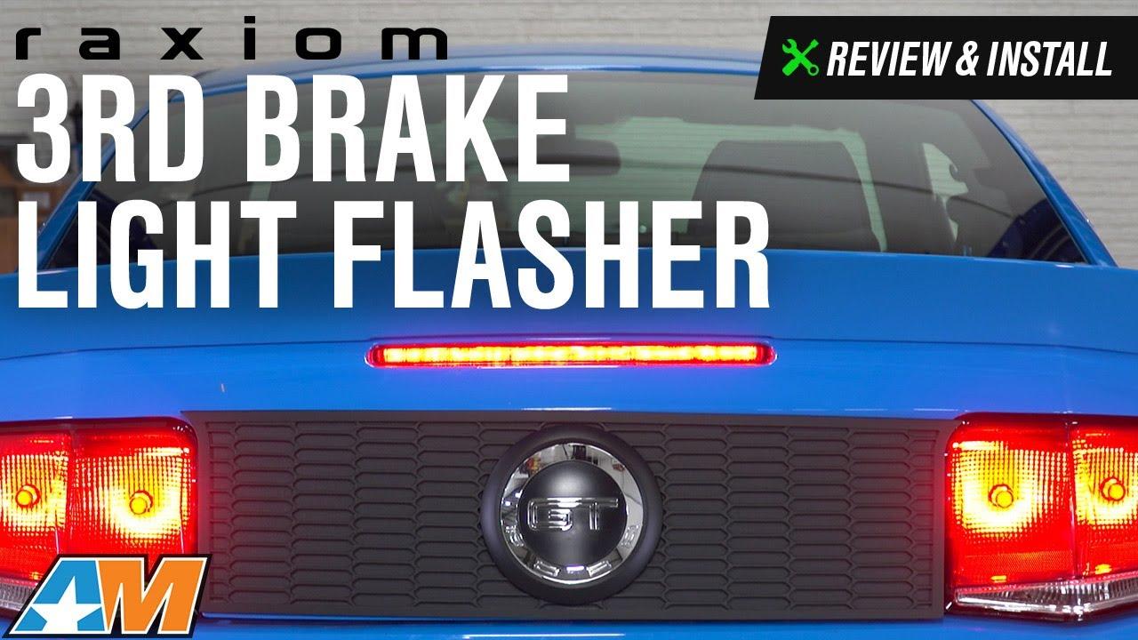 2005-2014 Mustang Raxiom 3rd Brake Light Flasher Review & Install