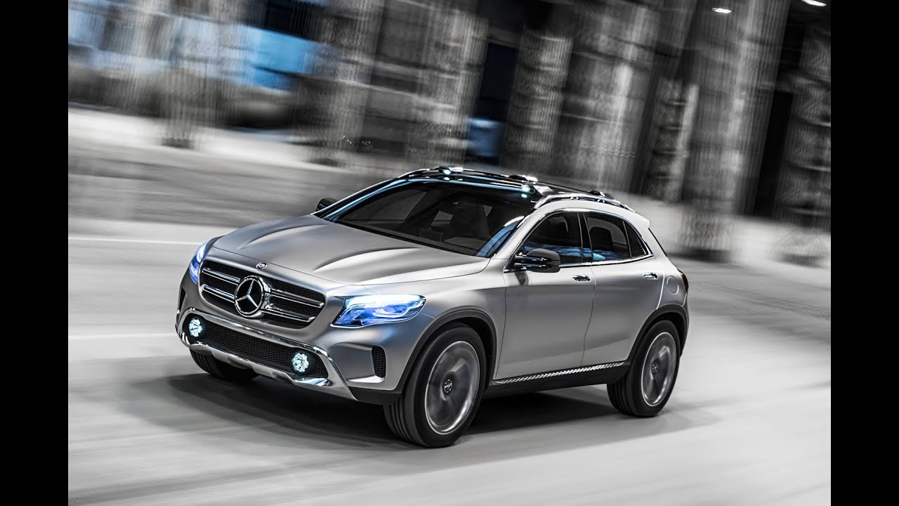 Mercedes gla concept suv secrets revealed for Small mercedes benz