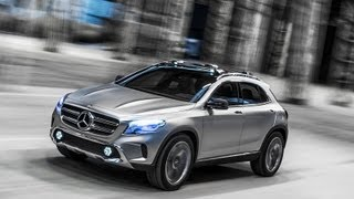 Mercedes-Benz GLA Concept 2013 Videos