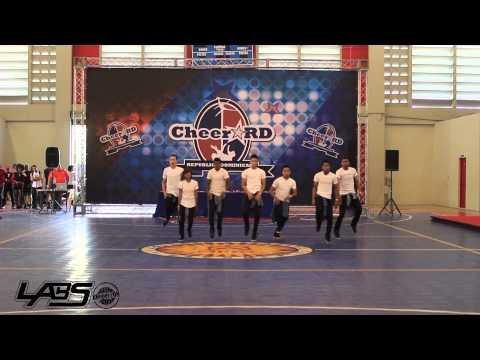 Legion G ganador 2do lugar categoría AllStar Campeonato Cheerleading y Dance, Hip-Hop Labs RD