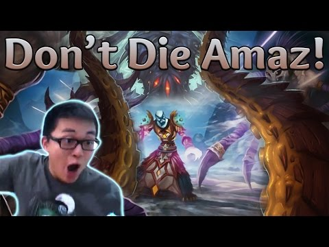 [Hearthstone] Don't Die Amaz! (Mage vs Rogue)