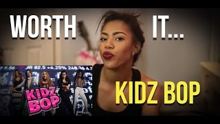 Reacting to Worth It (Kidz Bop Version)