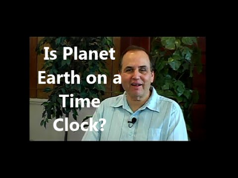 Is Planet Earth on a Time Clock?