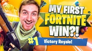 MY 1ST FORTNITE WIN?