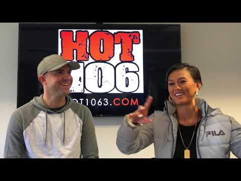 Agnez Mo with Hot 106