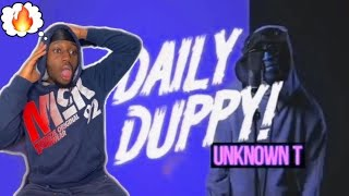 IS HE TOP 10 IN DRILL?? | Unknown T - Daily Duppy | GRM Daily [REACTION]