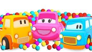 Deutsche Cartoons für Kinder - Die Schlauen Autos - Lernen die Farben