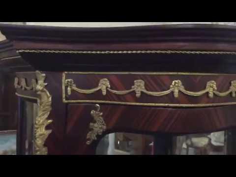 Antique Style brass mounted vitrine cabinet Renaissance Dublin Ireland