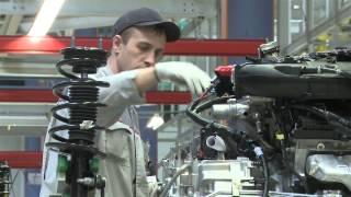 Сборка Ford Explorer на заводе в Елабуге