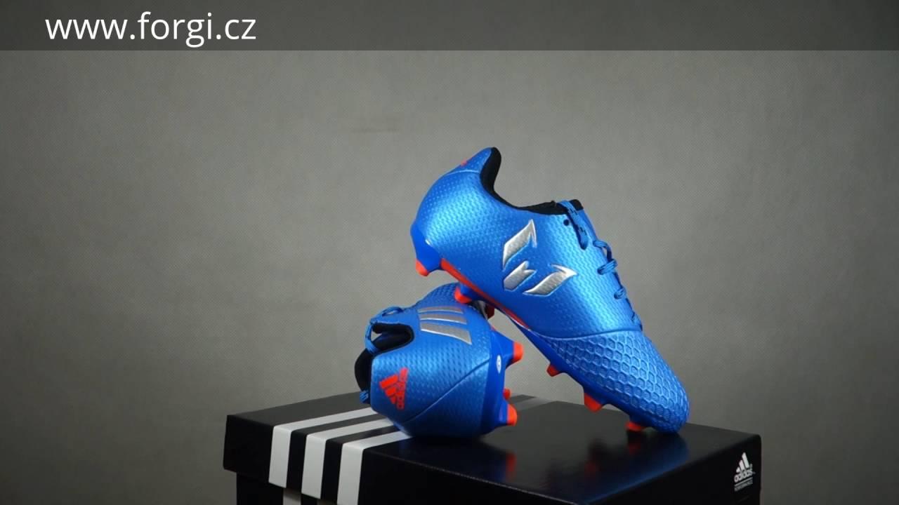 b46386a31b Dětské kopačky adidas Performance MESSI 16.3 FG J S79622 - YouTube