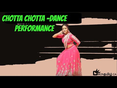 Chotta Chotta  Susany George  Tamil Dance Performance