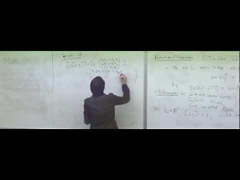 Lie algebras and their representations 1