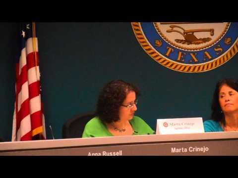 Houston Mayor Parker's Agenda secretary explains digital only agendas and backup docs Aug 4 2014