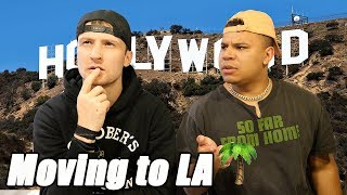 I'M MOVING TO LOS ANGELES!! (HOLLYWOOD)