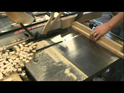 Making Wood Cubes
