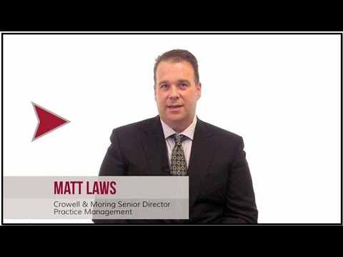 Part 1: Alternative Fees in Law, with Matt Laws of Crowell & Moring LLP